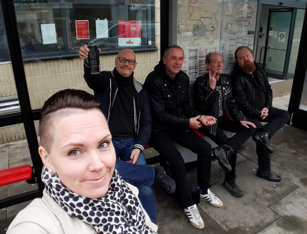 The Usual Suspects på en eller annen tube-stasjon
